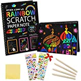 ZMLM Scratch Paper Art Notebooks...