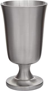Wentworth Pewter - Medieval Pewter Chalice Goblet Drinking Toasting Cup