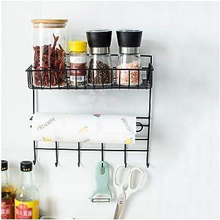 Dxbqm Organisateur de Rangement Cuisine réfrigérateur Rack étagère latérale Support Mural Multifonctionnel Multicouche réf...