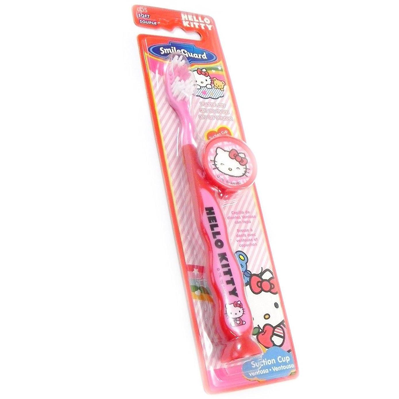トランザクション確執正しく[ハローキティ (Hello Kitty)] (Hello Kitty コレクション) [I2026] 子ども用ハブラシ レッド