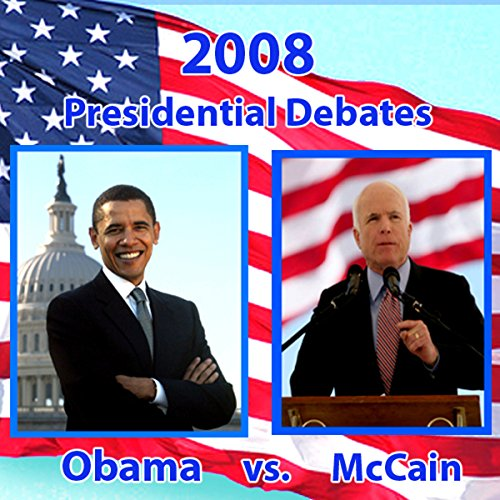 2008 First Presidential Debate audiobook cover art