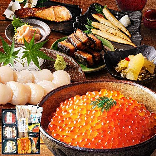 島の人 北海道 海鮮 7点セット 人気 ランキング 内祝い 数の子 秋鮭 ほたて 昆布巻き いくら 西京漬け 法華 贈答