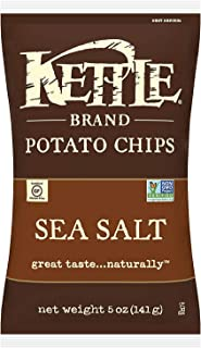 Kettle Chips, Sea Salt, 141g
