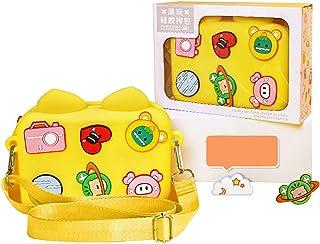 SalLady Kids Crossbody Bag Silicone Flexible Splashproof Crossbody Change Purse with Ornaments Lightweight Girls