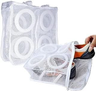 T&B 靴用洗濯ネット シューズ 洗濯ネット そのまま干せる 洗濯機 シューズに優しいクッション付き スニーカーなどシューズを洗濯機で丸洗いして 2個セット