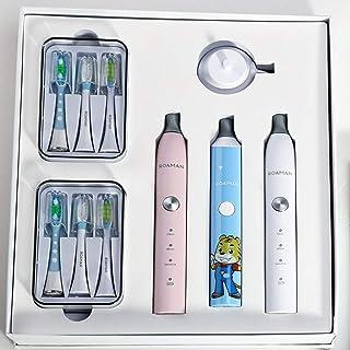 歯ブラシファミリーセット高級ギフトボックス歯ブラシ大人子供歯ブラシコンビネーションセット歯ブラシ