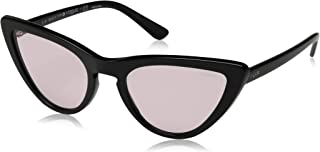 VOGUE Women's Special Collection by Gigi Hadid VO5211S Cat Eye Sunglasses, Black/Pink, 54 mm