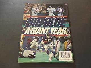 Big Blue A Giant Year New York Giants 1987