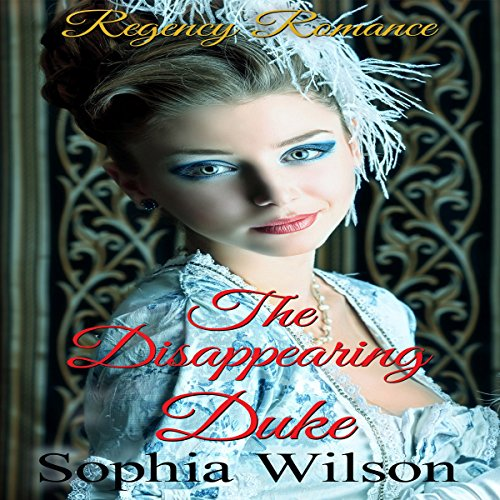 The Disappearing Duke audiobook cover art