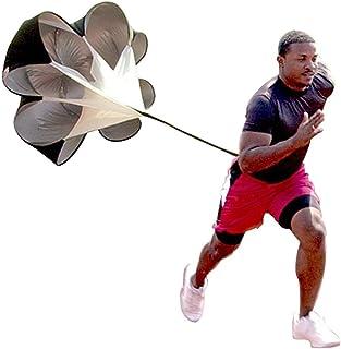 Speed Drills Resistance Parachute Umbrella Running Chute...