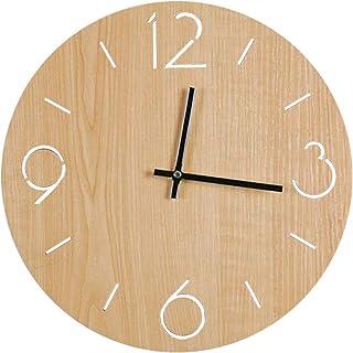 壁時計 かけ時計 ナチュラル オシャレな インテリア お部屋 寝室 に 飾り 母の日 記念日 引っ越し プレゼント