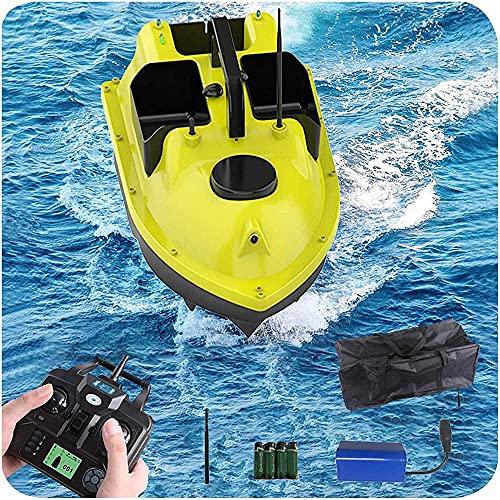 hgfch Barco Cebador Pesca Barco Cebador Carpfishing 500M GPS inalámbrico Twin Motor...