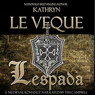 Lespada audiobook cover art