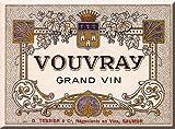 MAGNET 6X8cm GRAND VIN DE SAUMUR VOUVRAY - MM1393