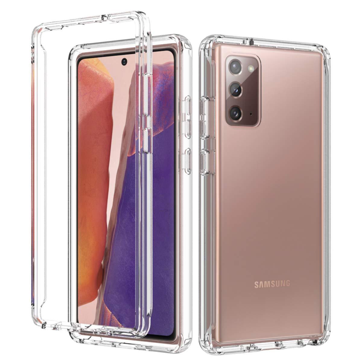 iMangoo Samsung Galaxy Note 20 Funda para teléfono Ultrafina a prueba de golpes TPU Silicona Funda protectora transparente para teléfono móvil Funda protectora para Samsung Galaxy Note 20 Crystal: Amazon.es: Electrónica
