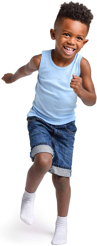 Baby Toddler Infant Newborn Kids Boys Girls Non Slip//Anti Skid Cozy Warm Winter Socks LA Active Athletic Crew Grip Socks