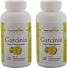 Ayurvedic Life Garcinia cambogia capsule 120 count Pack of 2