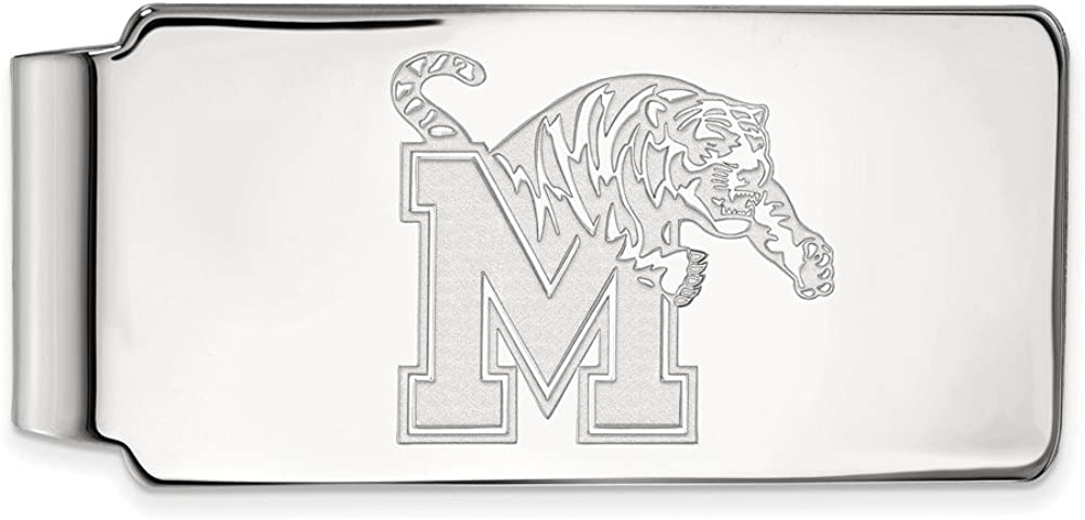 Solid 925 Max Max 75% OFF 49% OFF Sterling Silver Official of Bu Slim Memphis University
