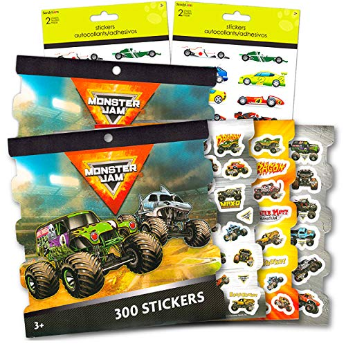 Monster Jam Party Supplies Stickers…