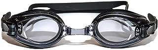Sports Vision's Prescription Optical Swimming Goggles Kids & Adult Black Minus & Plus Powers UV Tint Kids Age 6 - 14 Adult Age 15 +