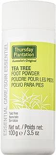 Tea Tree Foot Powder Thursday Plantation 100 g Powder (3 Pack)