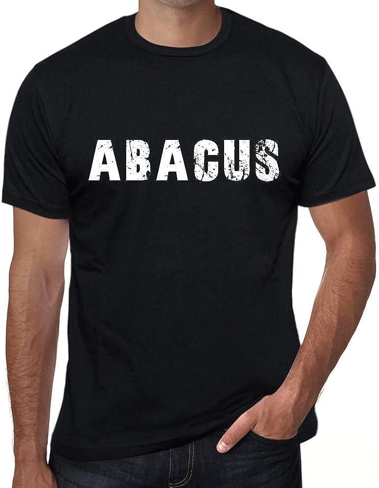 One in the City Abacus Hombre Camiseta Negro Regalo de Cumpleaños 00554