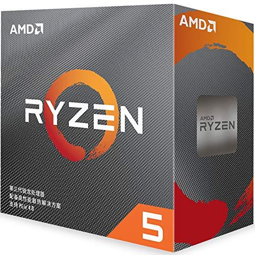 SUNHUALIN Procesador AMD R5 3600 3.6 GHz Procesador de CPU de Doce núcleos y Seis núcleos 7Nm 65W L3 = 32M 100 000000031 Socket