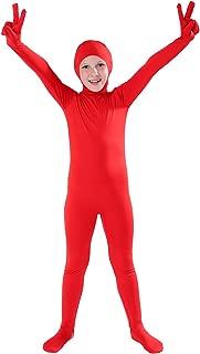 kids red union suit