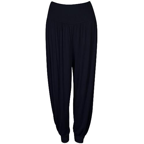 f418e66a63e Pretty Fashion Women s Harem Trousers Ali Baba Long Ladies Girls Pants  Baggy Harem Leggings Plus Size