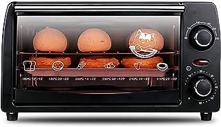 Horno Eléctrico, Temporizador De Control De Temperatura Alta Capacidad Doble Placa Calefactora Múltiples Funciones De Cocción Puerta De Vidrio Templado Claramente Visible