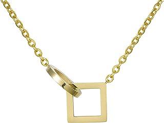 Cha/îne d/'ancre Materia de couleur or en argent/925 1/mm collier dor/é disponible en tailles 40 /à/80/cm #K61
