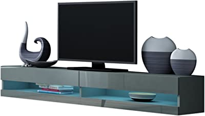 Amazoncom Meble Furniture Rugs Tv Stand Milano 200 Led Wall