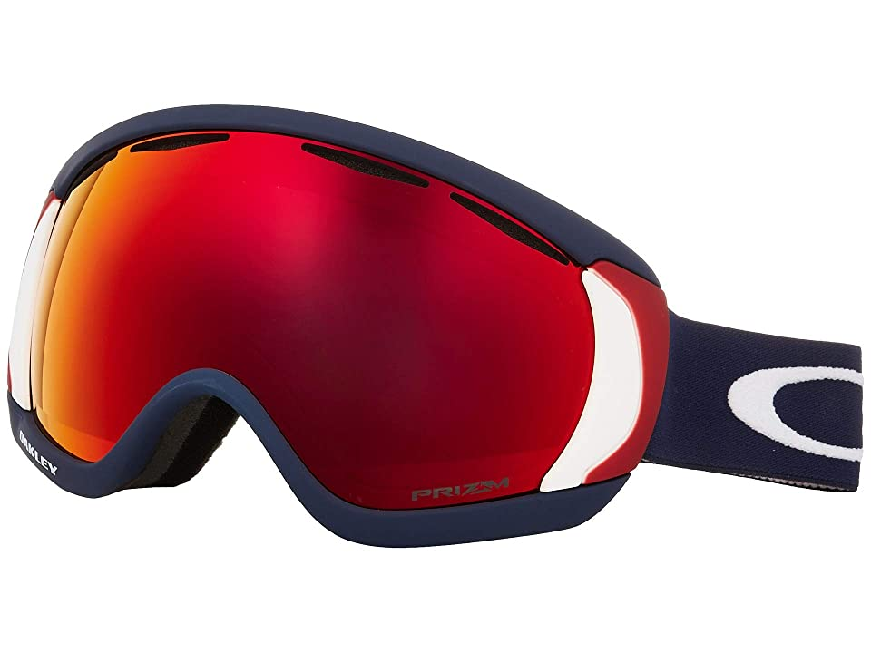 Oakley Canopy (USOC Blazing Eagle w/ Prizm Torch Iridium) Snow Goggles