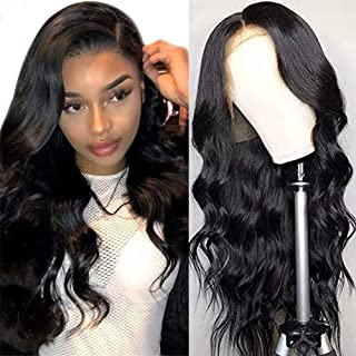 Body Wave Lace Front Wigs for Black Women Human Hair, 13x4 Lace Frontal Human Hair Wigs, 150% Density Brazilian Virgin Hum...