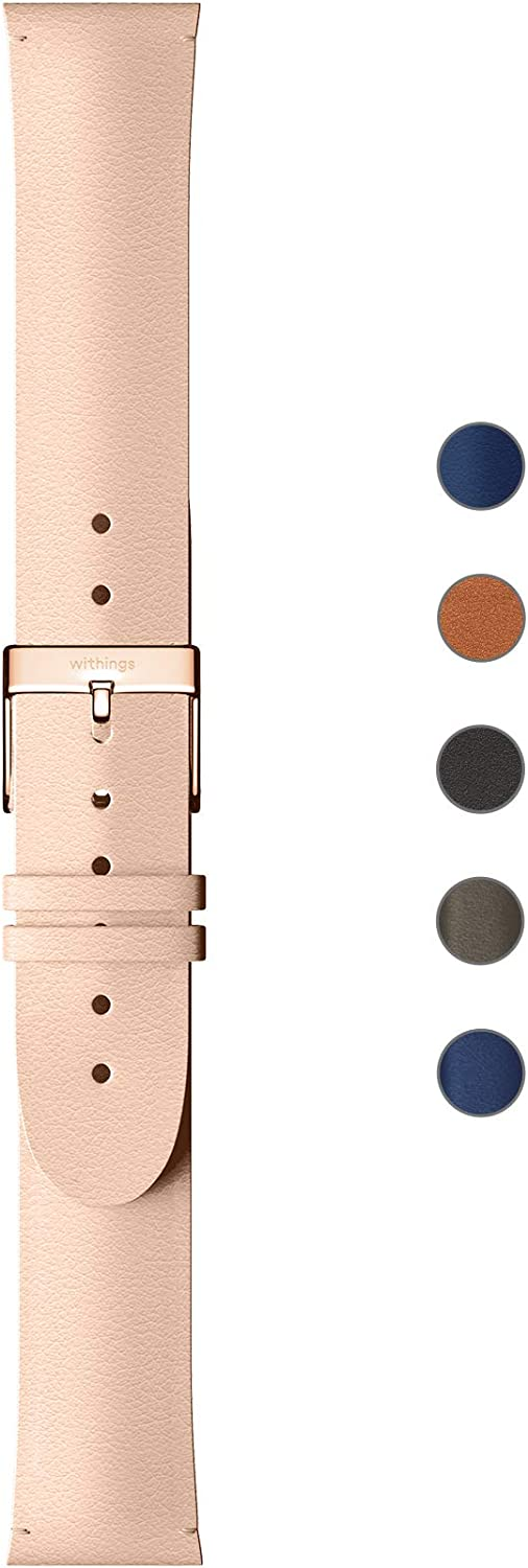 Withings Leather Wristbands for Steel HR, Steel HR Sport, Move ECG and Move