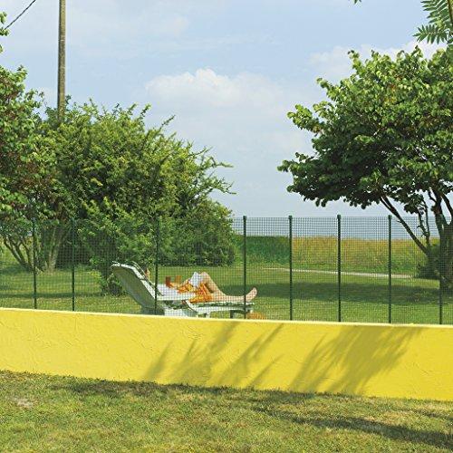 Intermas M71045 toile carrée mini rouleau 5 x 1 m Vert