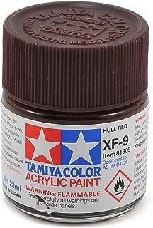 Tamiya Acrylic XF9 Hull Red 23ml Bottle