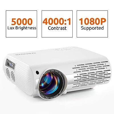 Crenova Video Projector, 2019 Upgraded HD Home ...