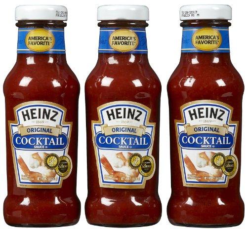 Heinz Seafood Cocktail Sauce, 12 oz, 3 pk