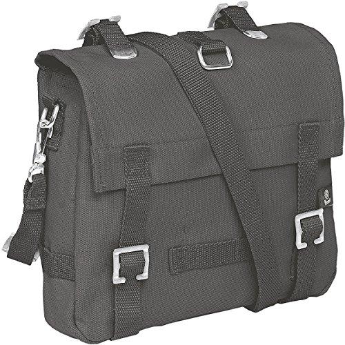 Brandit Kampftasche Small Unisex Umhängetasche anthrazit 100% Baumwolle Basics