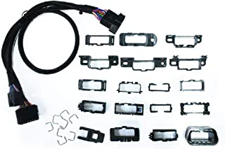 Xtruck North American Universal OBDII Cable Harness Kit OBD T Cable core Connector obd2 Cable