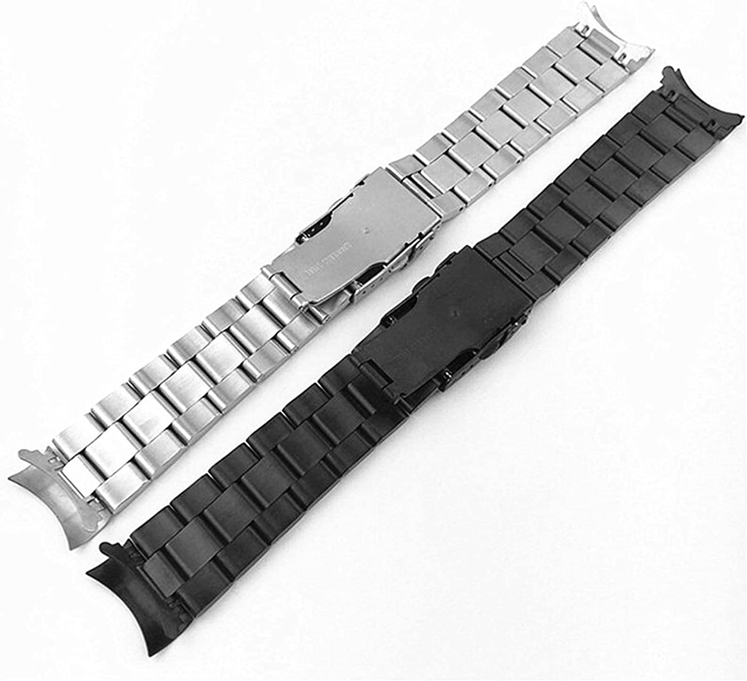 ZJSXIA Watch Strap 20mm 22mm Watchband Wome Men Steel Stainless New Orleans Mall sold out