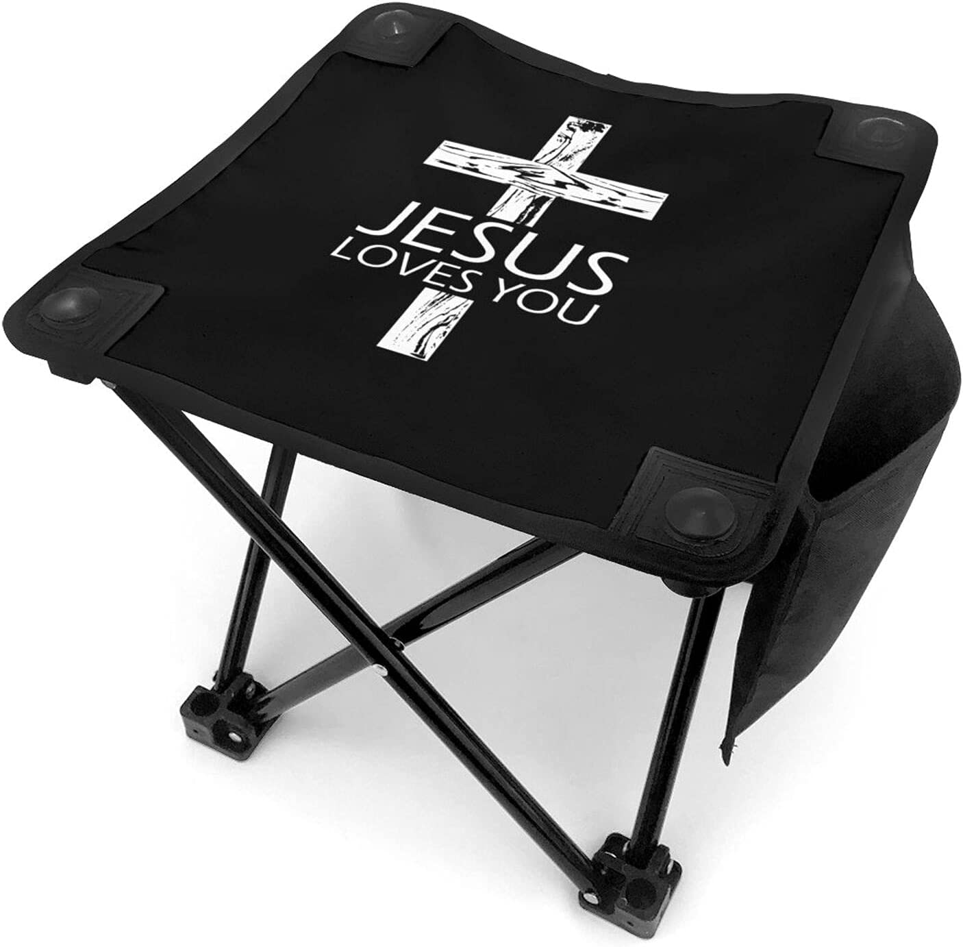 Jesus Loves Brand new You Camping Stool Mini Portable Stools Fo Ultralight Max 61% OFF