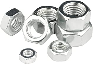 Multifunctioneel Thread Hex Nut Metric M5 M6 M8 M10 Verzinkt Koolstofstaal Reverse Thread Hex Hexagon Nuts Left Tand Nuts ...