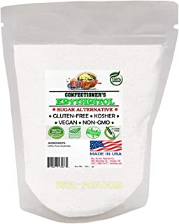 Erythritol Sweetener Powdered- Perfect for KETO, Diabetics & Low Carb Dieters - Confectioners - No Calorie Sweetener, Natu...