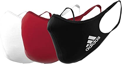 Adidas Face Cover Large, Multi Color (Pack of 3)