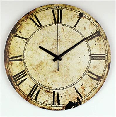 Hwealth Silent Large 14 inch Decorative Wall Clock for Home - 22