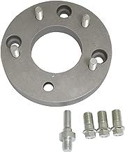 EMPI 9504 Chevy 5 lug Wheel to 4 Lug VW Wheel Adapters, Aluminum, Pair, VW BUG, BEETLE, With Studs