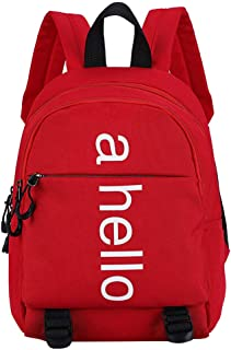 Cocity Casual Style Lightweight Canvas Backpack School Bag Travel Daypack for Boys and Girls Pre School Pre Kindergarten Toddler 2-7 Years