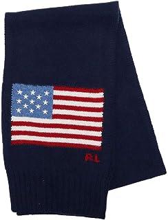 ポロ ラルフローレン (Polo Ralph Lauren) PC0403 MUFFLER メンズ レディース マフラー 国旗 星条旗 男女兼用 ストール ギフト [並行輸入品]